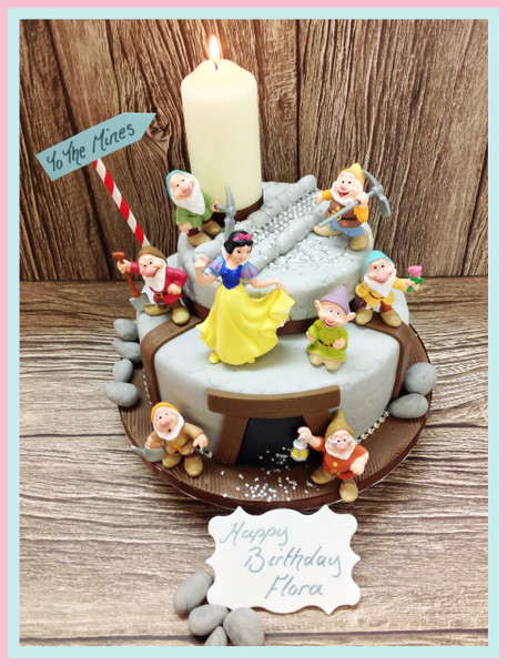 Seven Dwarfs Cake