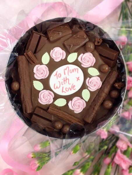 Sweet Flowers Comfort Cake