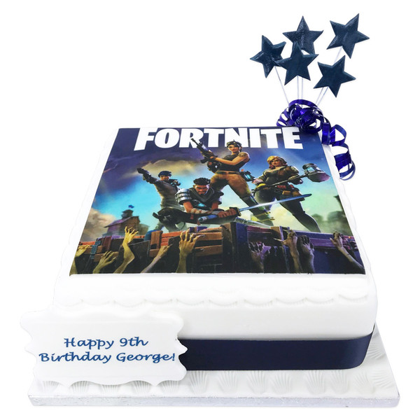 Fortnite Cake Birthday Cakes The Brilliant Bakers