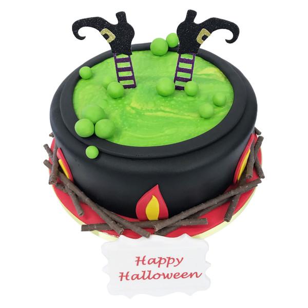 Witches Cauldron Cake