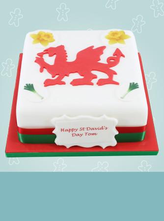 ST DAVID'S DAY CAKES