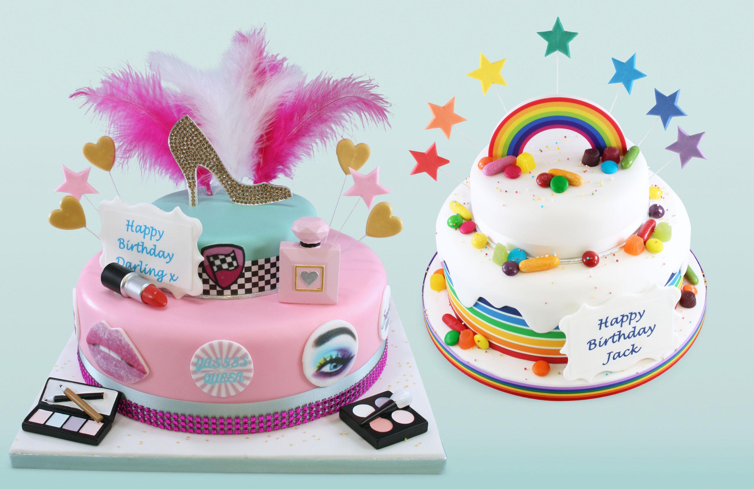 Pride Day Cakes
