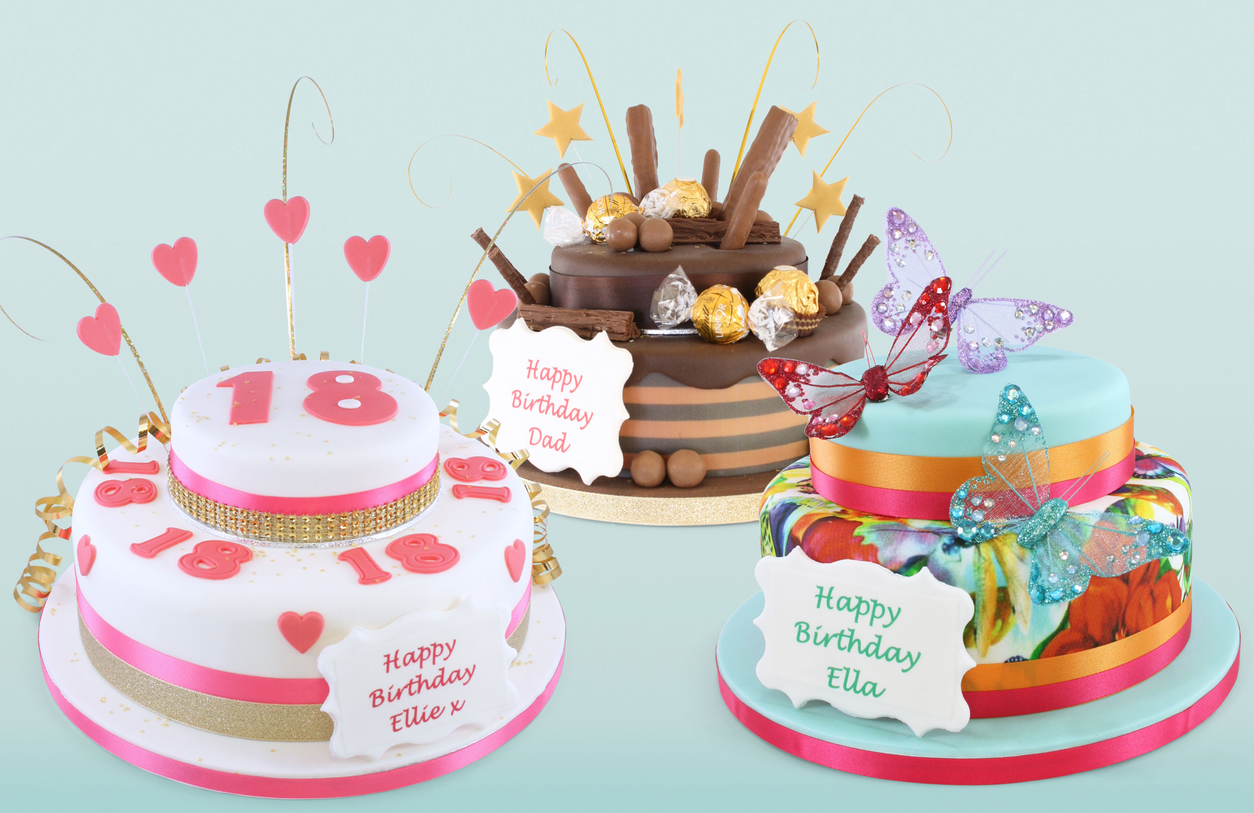 Two Tier Cakes