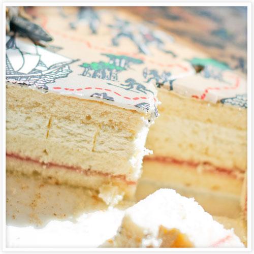 Vanilla Sponge Ingredient List