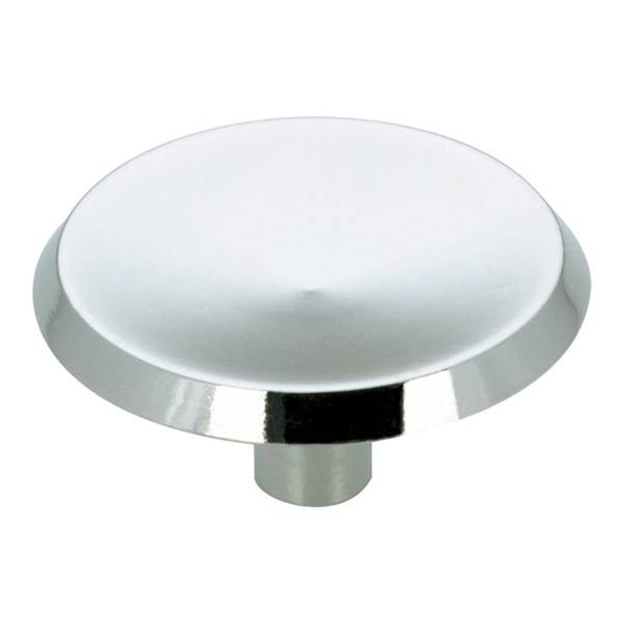 "1"" Dia. Transitional Village Indent Round Knob - Chrome (BP37751140)"