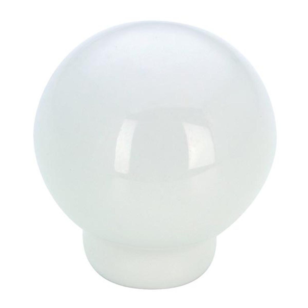 "KNOB CERA.1 1/4""(8/32)WHITE (RLU-600230)"