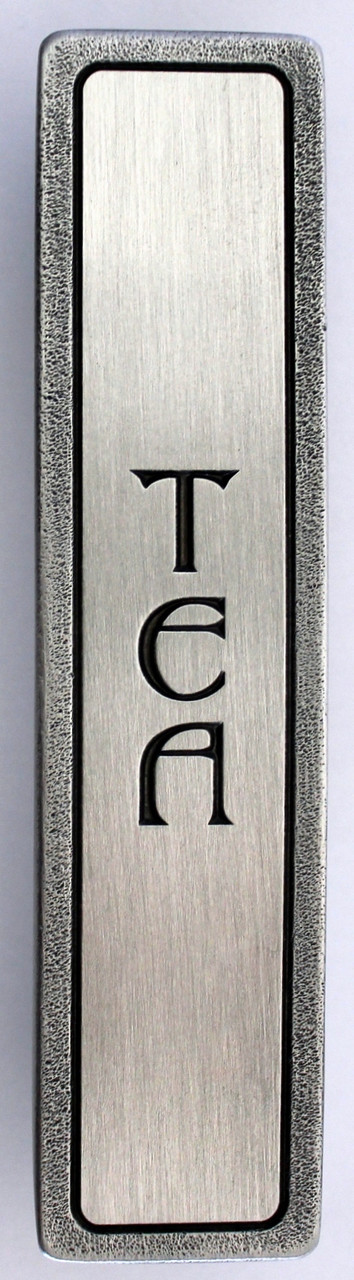"""TEA"" Pull Antique Pewter (Vertical) (NHP-340-AP)"