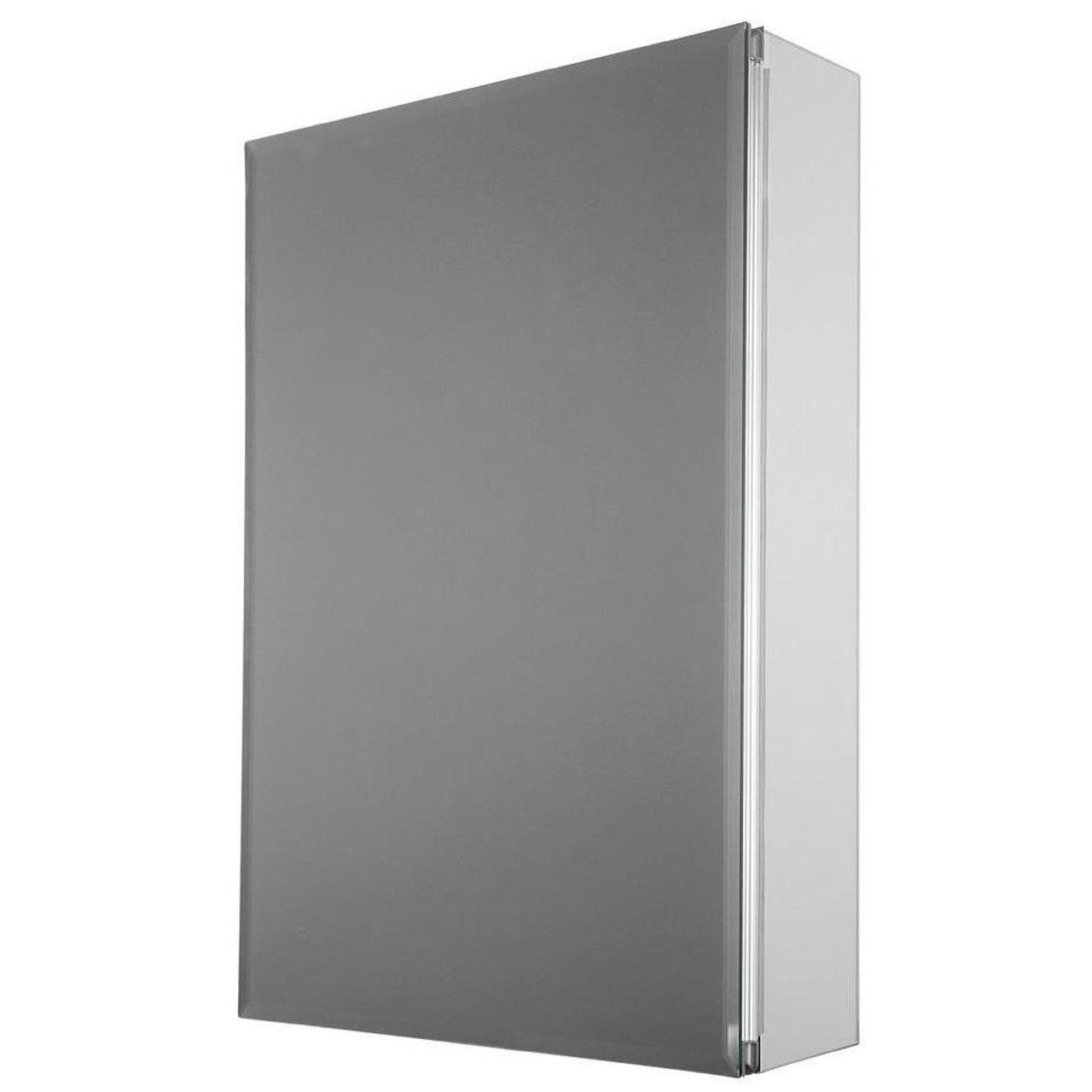 15 in. x 26 in. Recessed or Surface Mount Medicine Cabinet with Beveled Mirror (PE-511275)