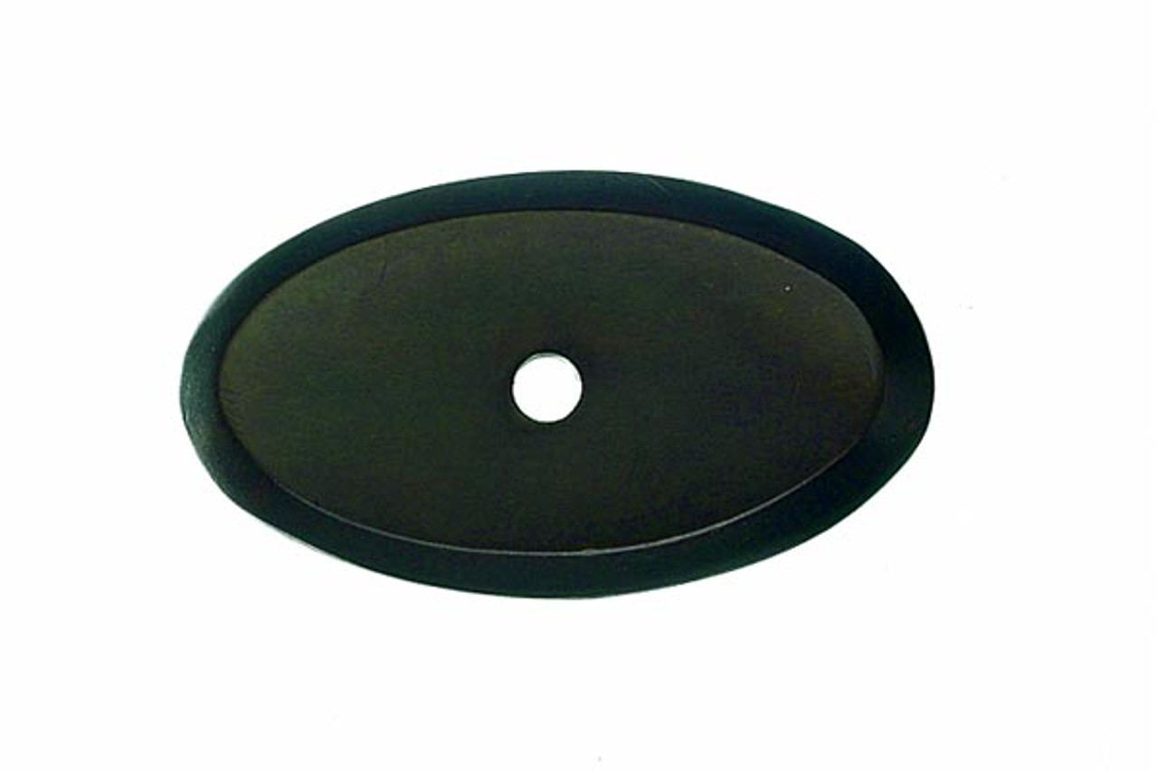 Top Knobs - Aspen Oval Backplate  - Medium Bronze (TKM1442)