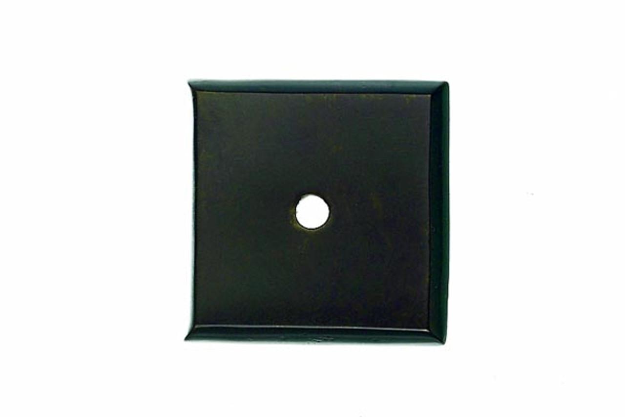 Top Knobs - Aspen Square Backplate   - Medium Bronze  (TKM1447)