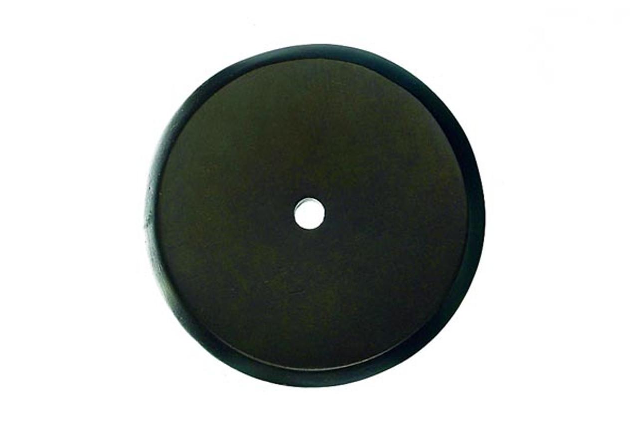 Top Knobs - Aspen Round Backplate  - Medium Bronze  (TKM1462)