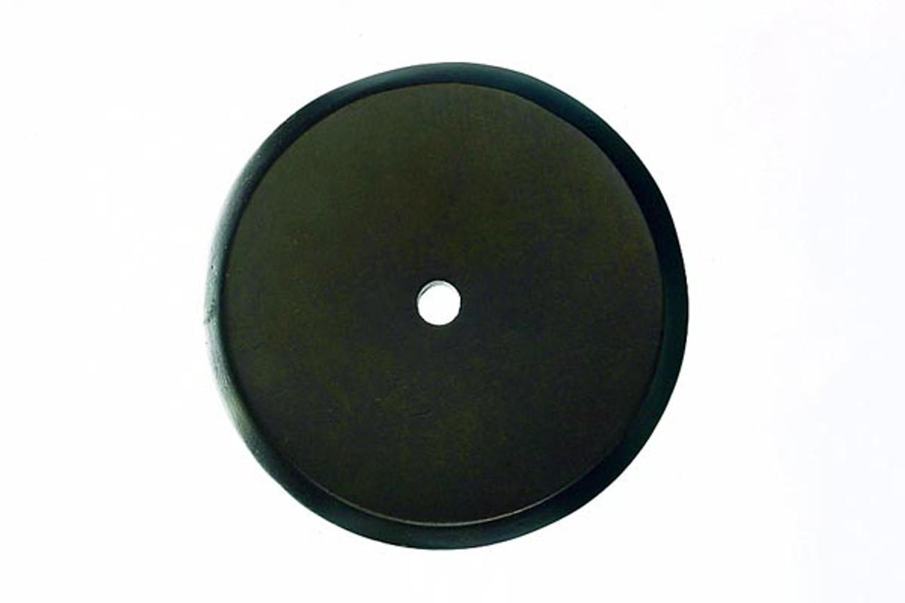 Top Knobs - Aspen Round Backplate  - Medium Bronze  (TKM1467)