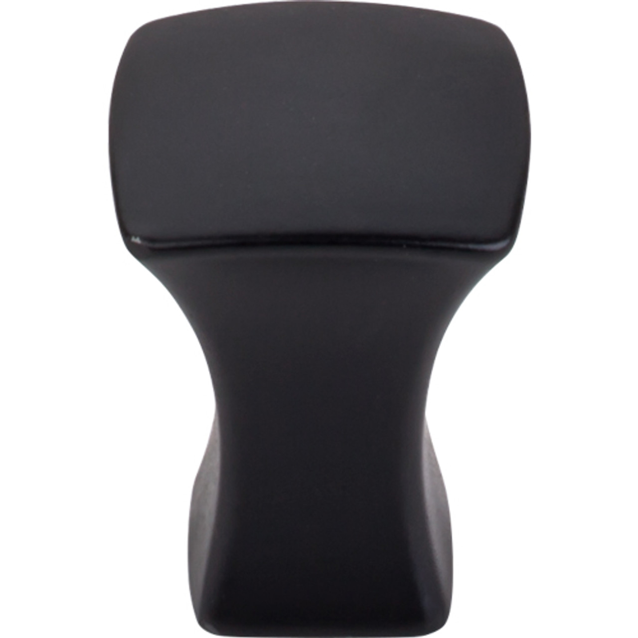 "Top Knobs - Glacier Knob 3/4"" - Flat Black (TKTK550BLK)"