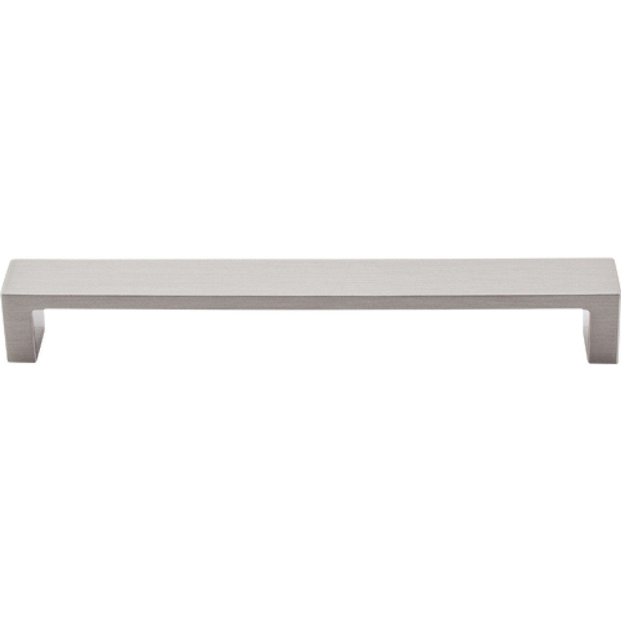 "Top Knobs - Modern Metro Pull 7"" (c-c)  - Brushed Satin Nickel  (TKTK252BSN)"