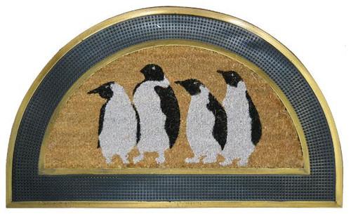 Penguins Half Round (ID727RBCM)
