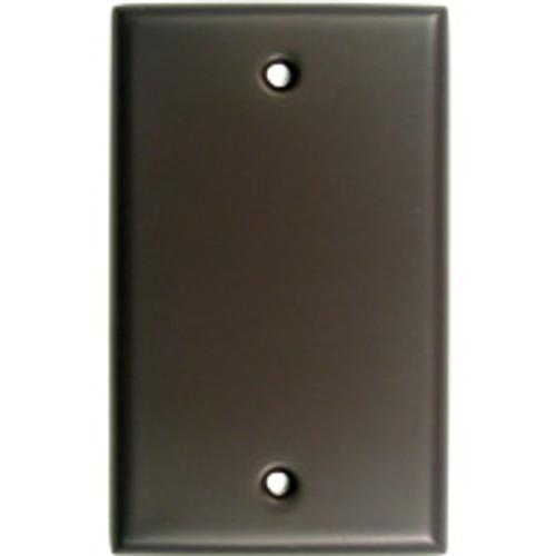 Oil Rubbed Bronze Single Blank Switchplate (RWR-780ORB)