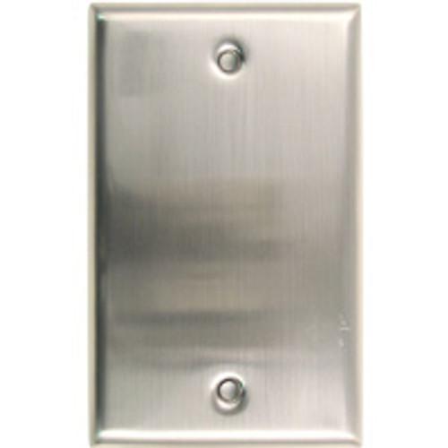 Satin Nickel Single Blank Switchplate (RWR-780SN)