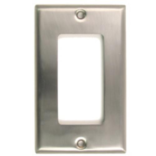 Satin Nickel Single Rocker Switchplate (RWR-784SN)