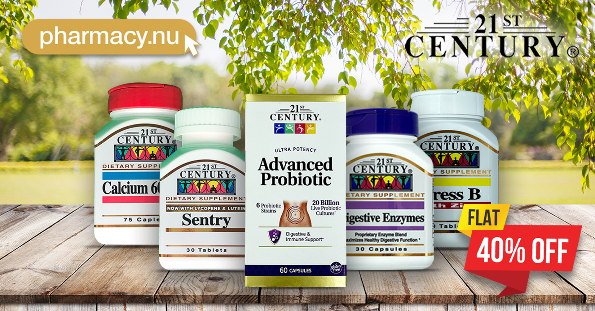 21st Century Vitamins are at 40% Off