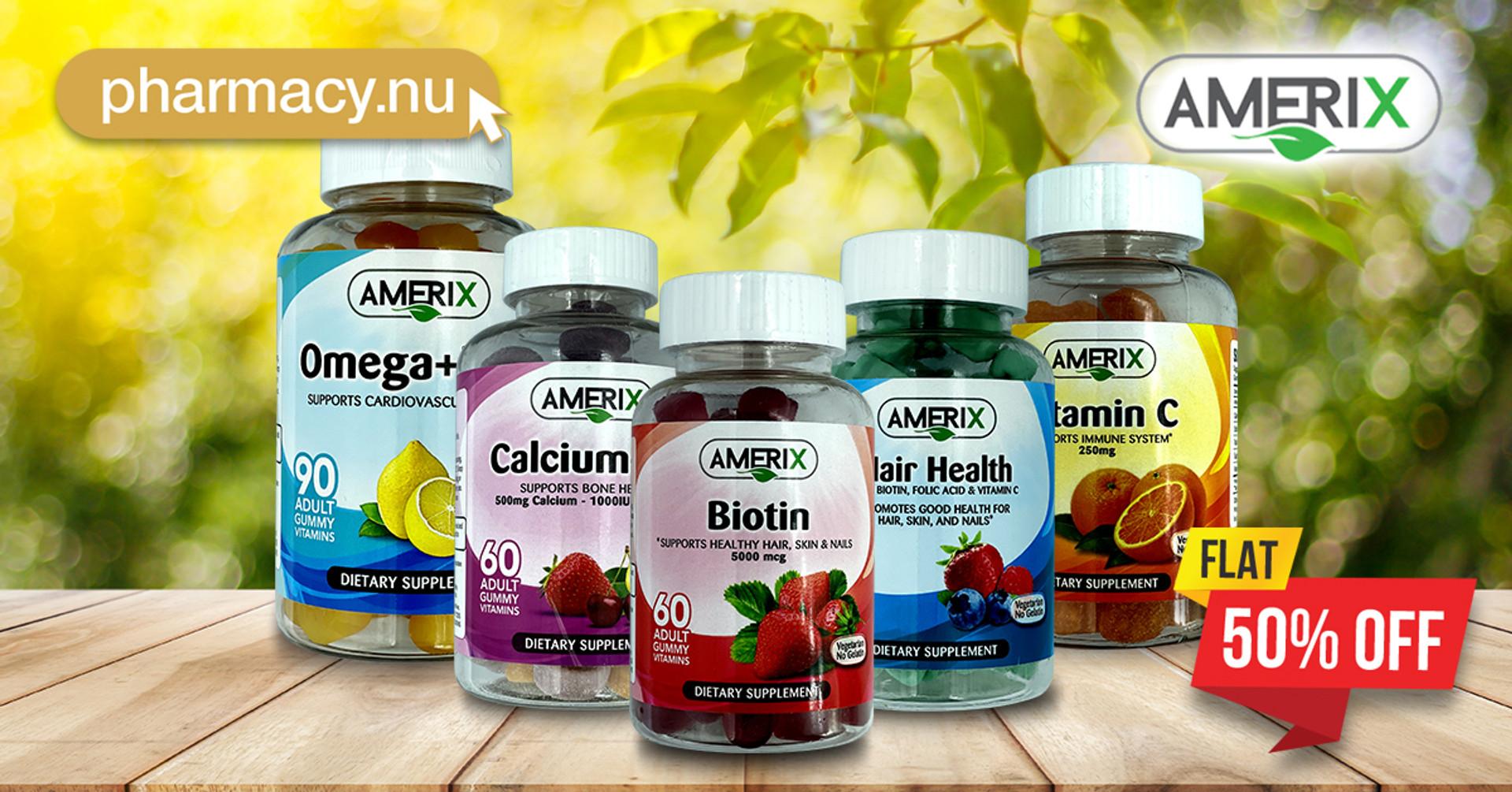 Amerix Vitamins are at 50% Discount