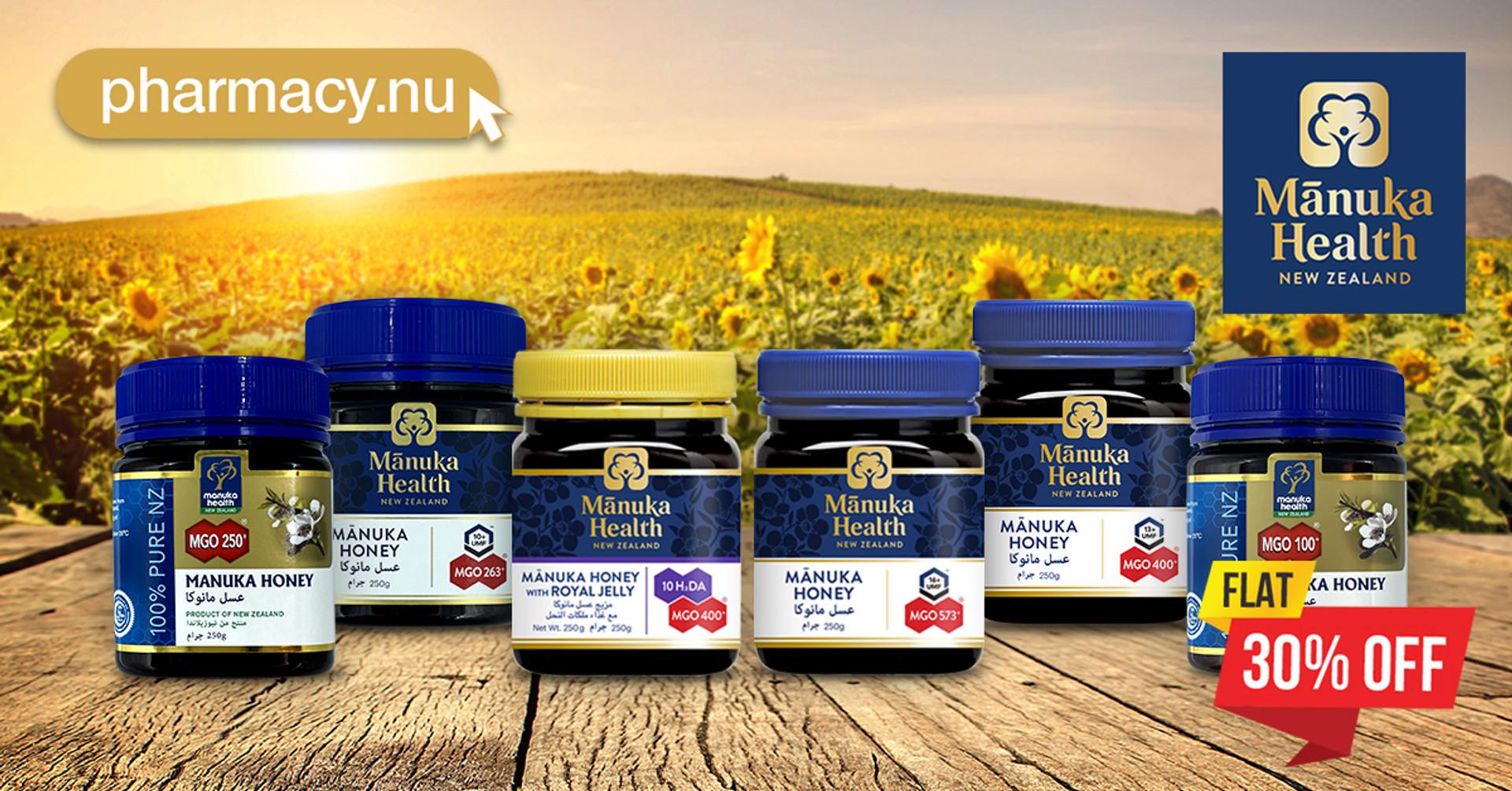 New Zealands finest Manuka Honey at 30% Discount