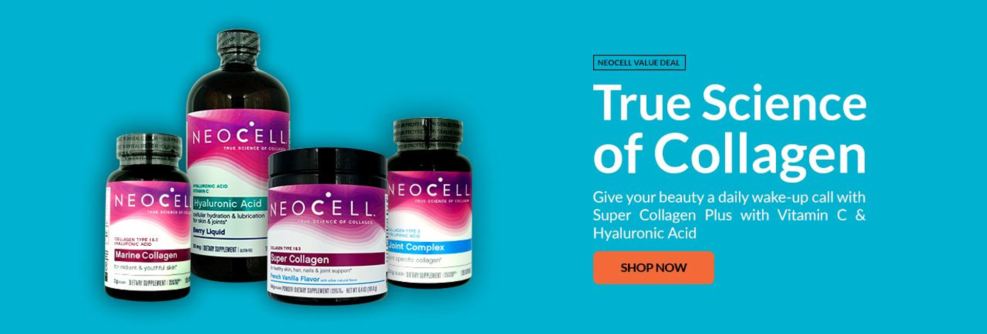 Neocell Collagen is your daily beauty wake-up call!