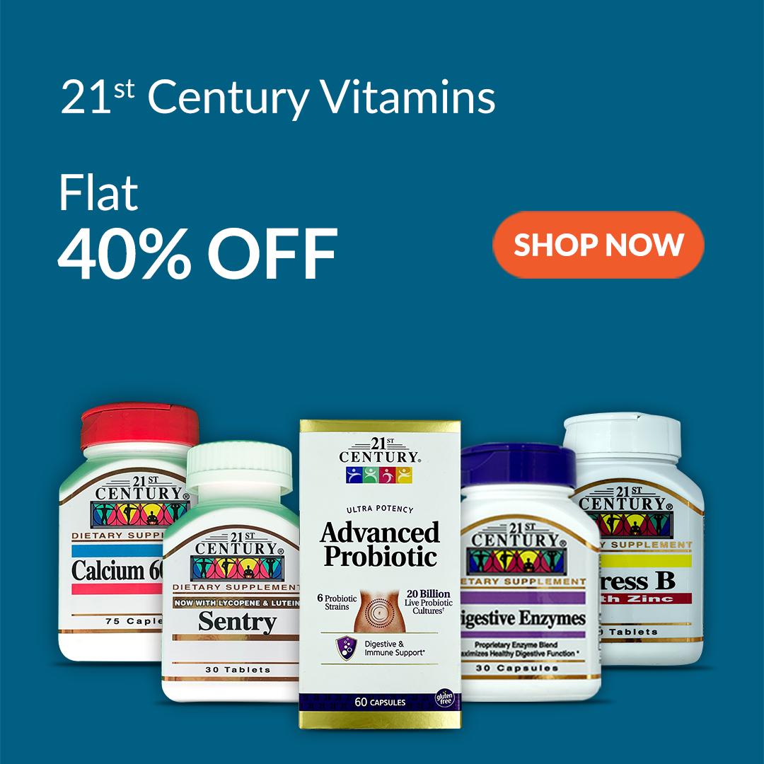 21st Century Vitamins are 40% Off