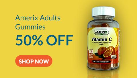 Amerix Adult Gummy Vitamins at 50% Off