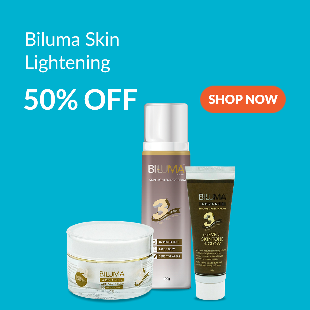 Biluma Skin Lightening Cream is 50% Off