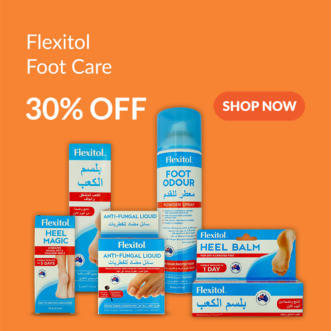 Flexitol Foot and Hand Care Products from the UK