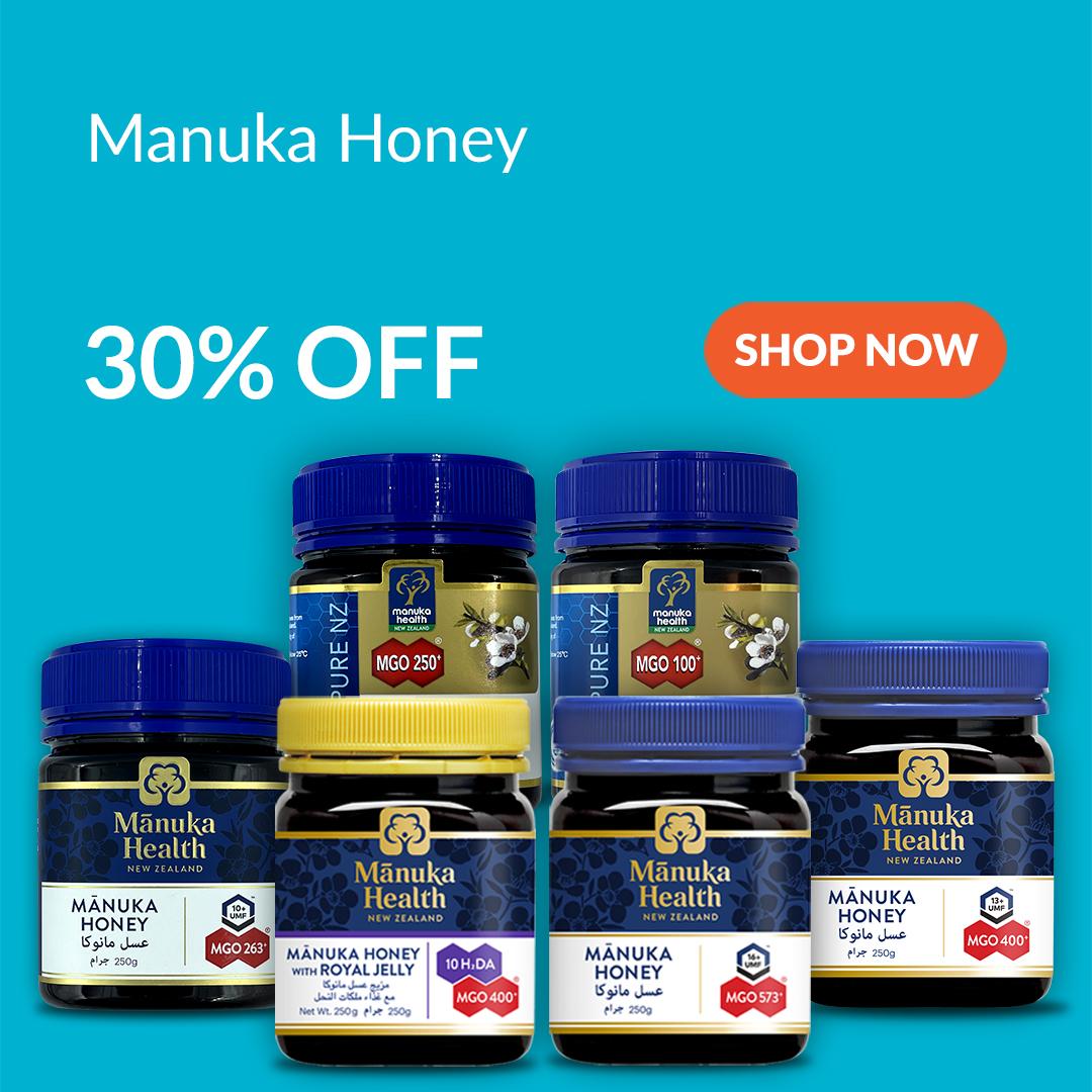 Manuka Honey is 30% Off