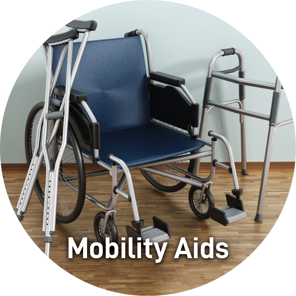 Mobility Aids Wheel Chairs Crutches