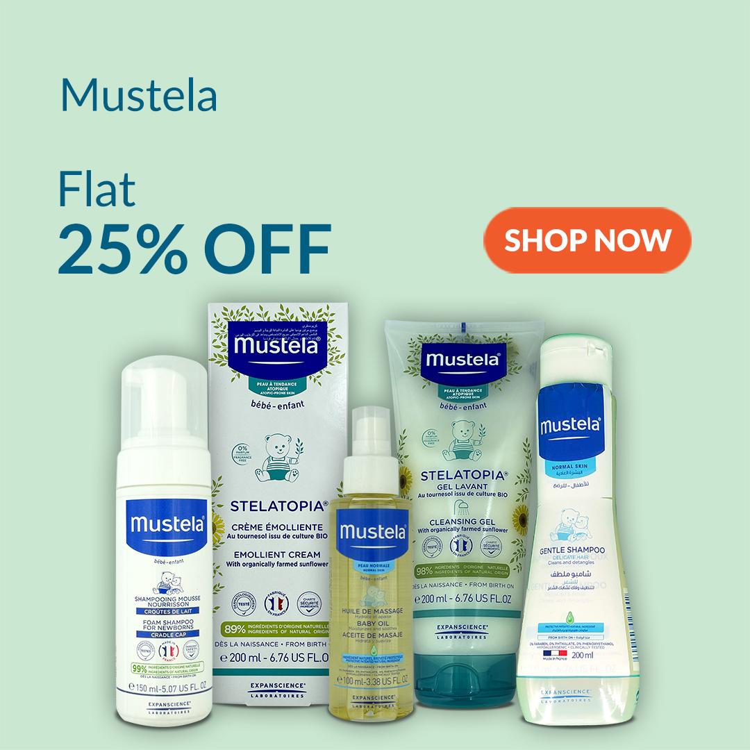Mustela Baby Skin Care at 25% Off