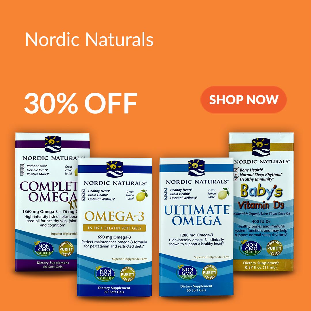 Nordic Naturals Pure Fish Oil