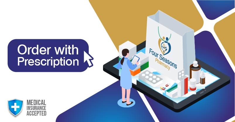 Dispense and fill your prescriptions onlione with easy medical insurance claims