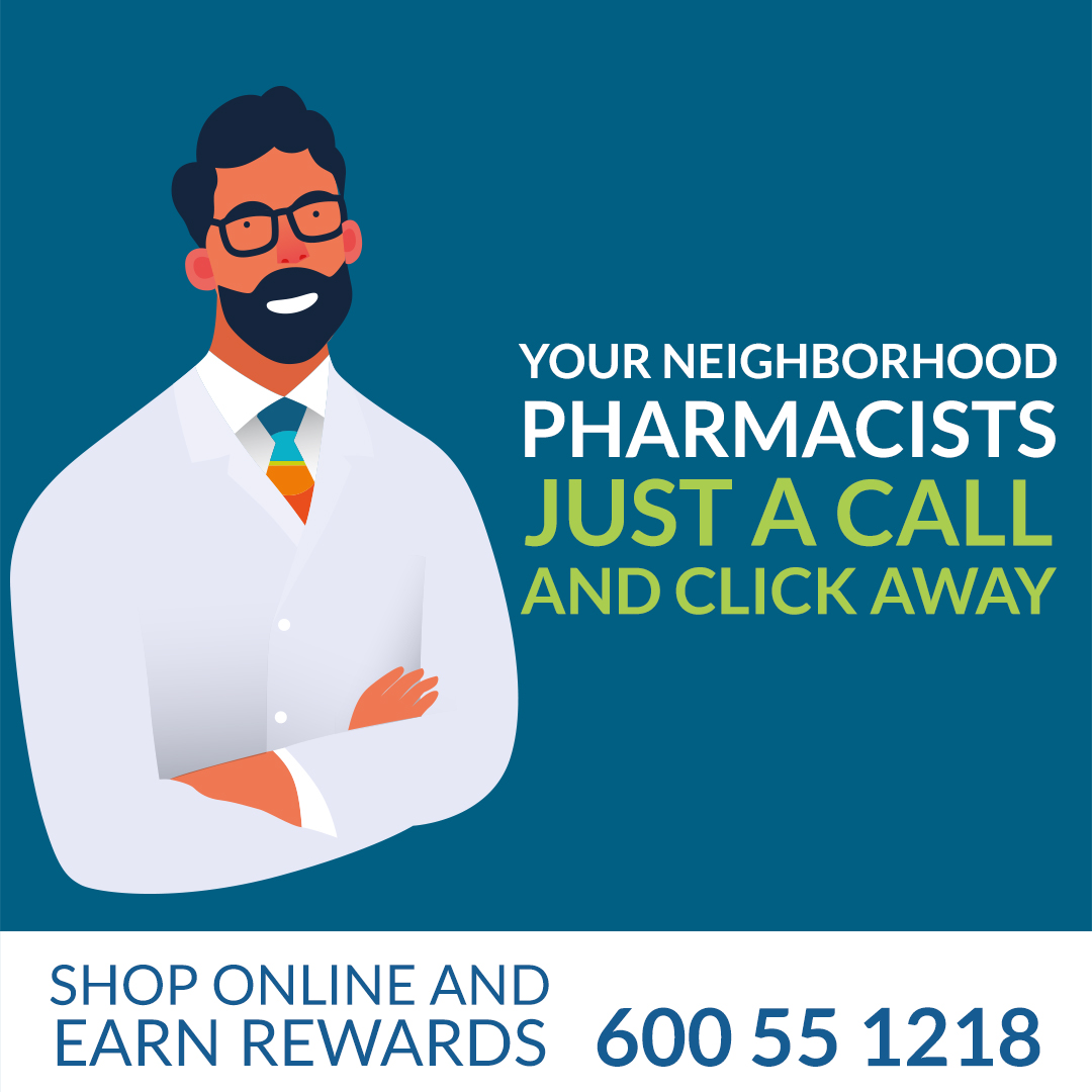 Our licensed pharmacists are just a phone call away