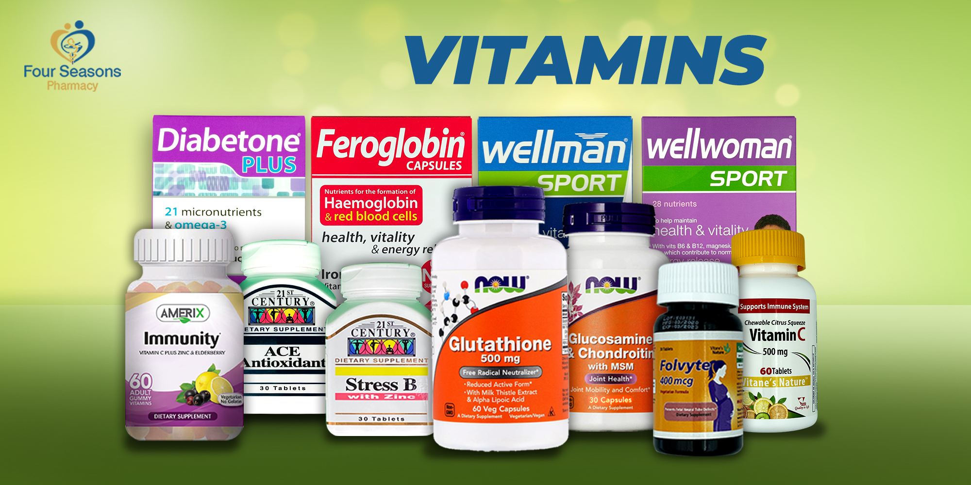 Vitamins - Upto 50% Off