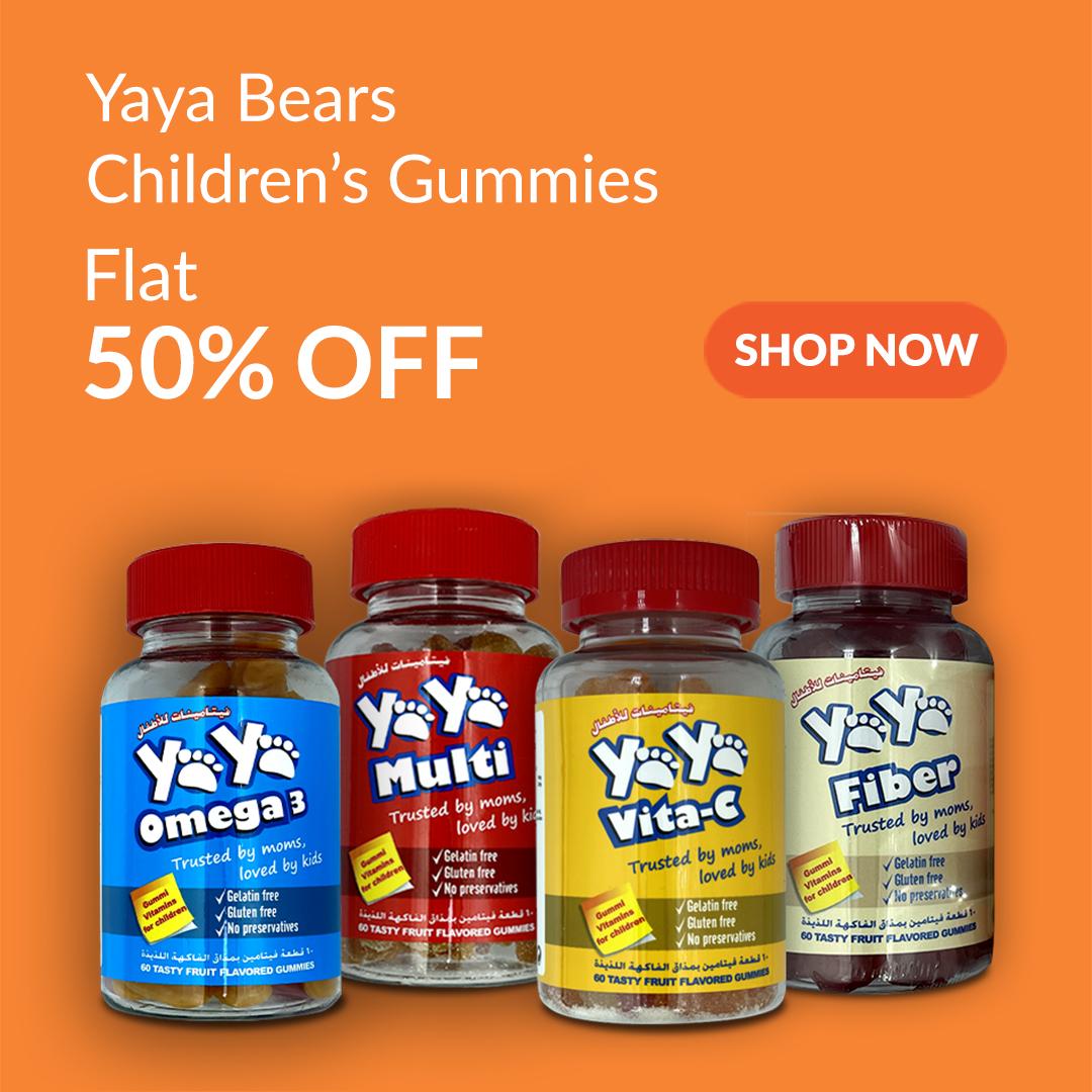 YaYa Bears Childrens Gummy Bears are 50% Off