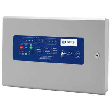Haes Esento Excel Conventional or Twin Wire Fire Alarm Control Panel  -  XLEN
