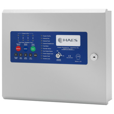 Haes Esento Eclipse 2 Zone Conventional Or Twin Wire Control Panel  -  ECL-2