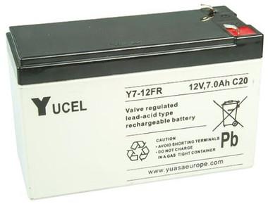 Yuasa Yucel 7 AH 12V Battery - Y7-12