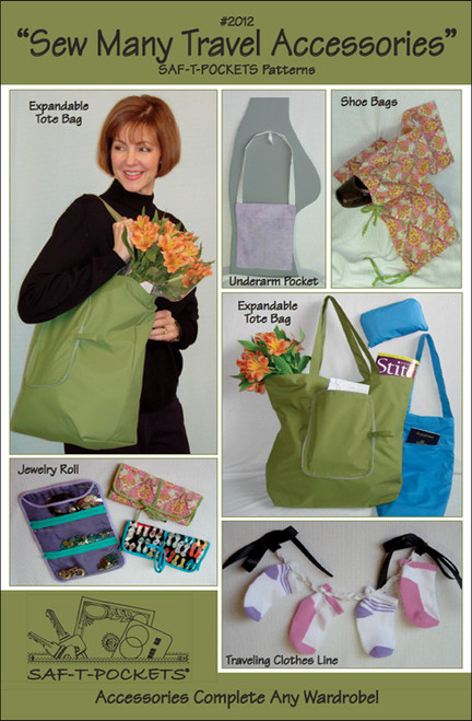 SEW MANY TRAVEL ACCESSORIES - 2012