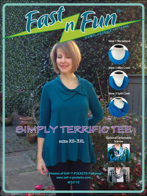 SIMPLY TERRIFIC TEE - 3006 - Paper Pattern