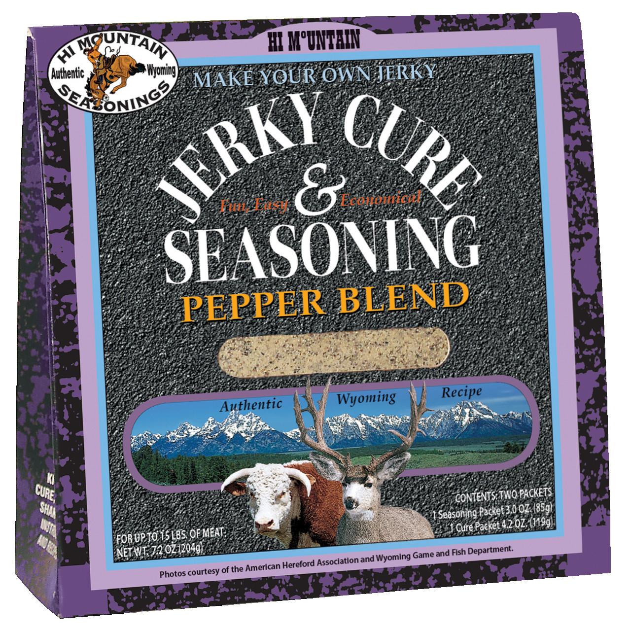 Pepper Blend Jerky Kit