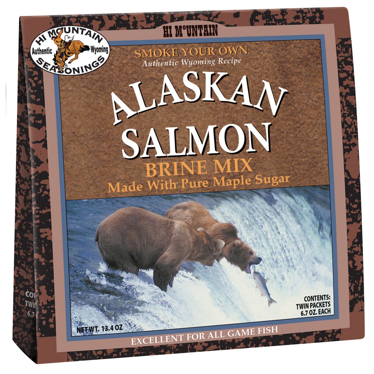 Alaskan Salmon Brine Mix