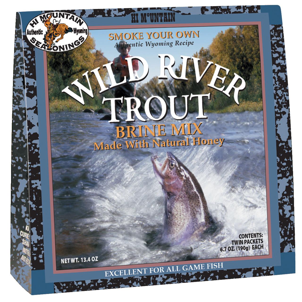 Wild River Trout Brine Mix