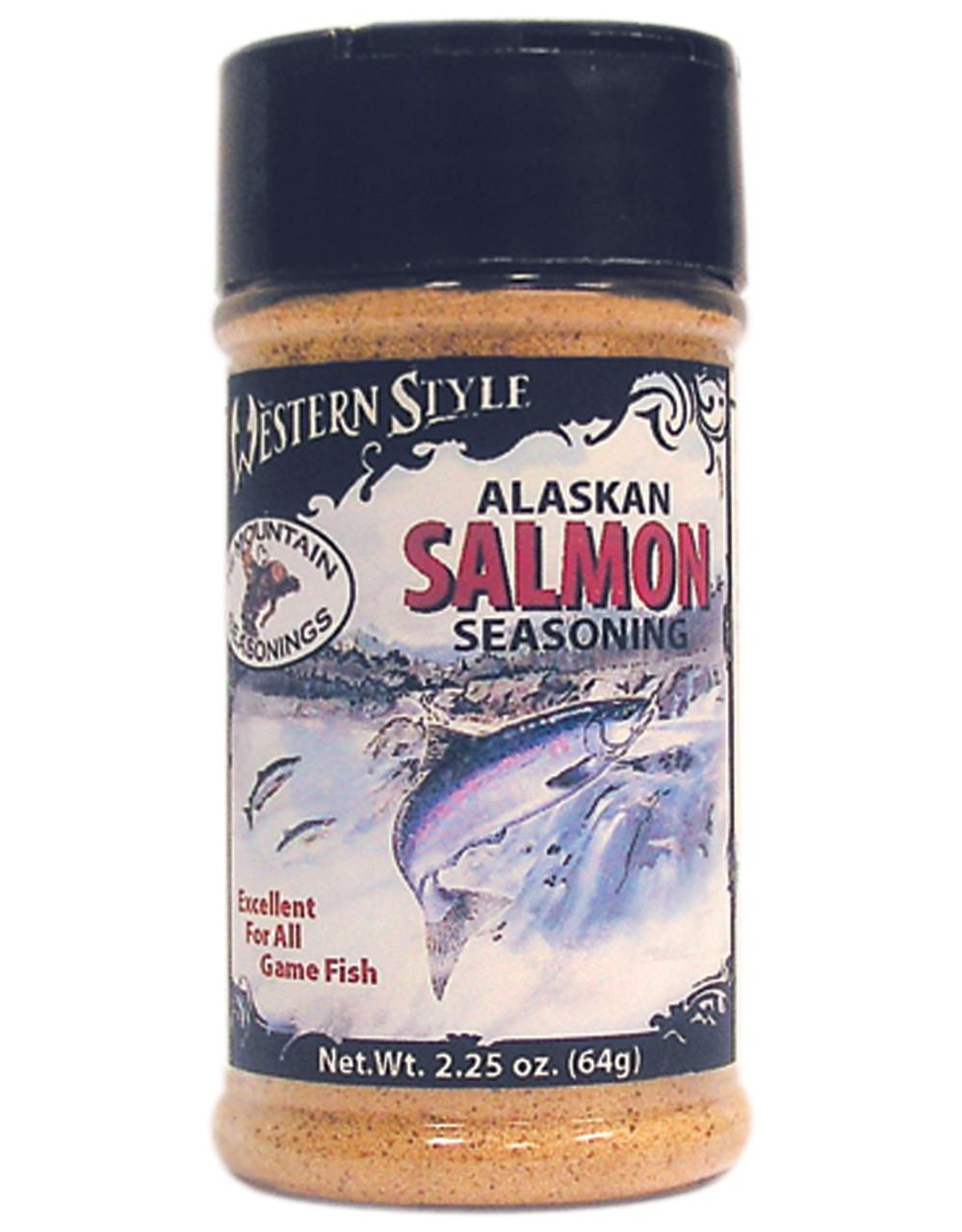 Alaskan Salmon Western Style Seasoning