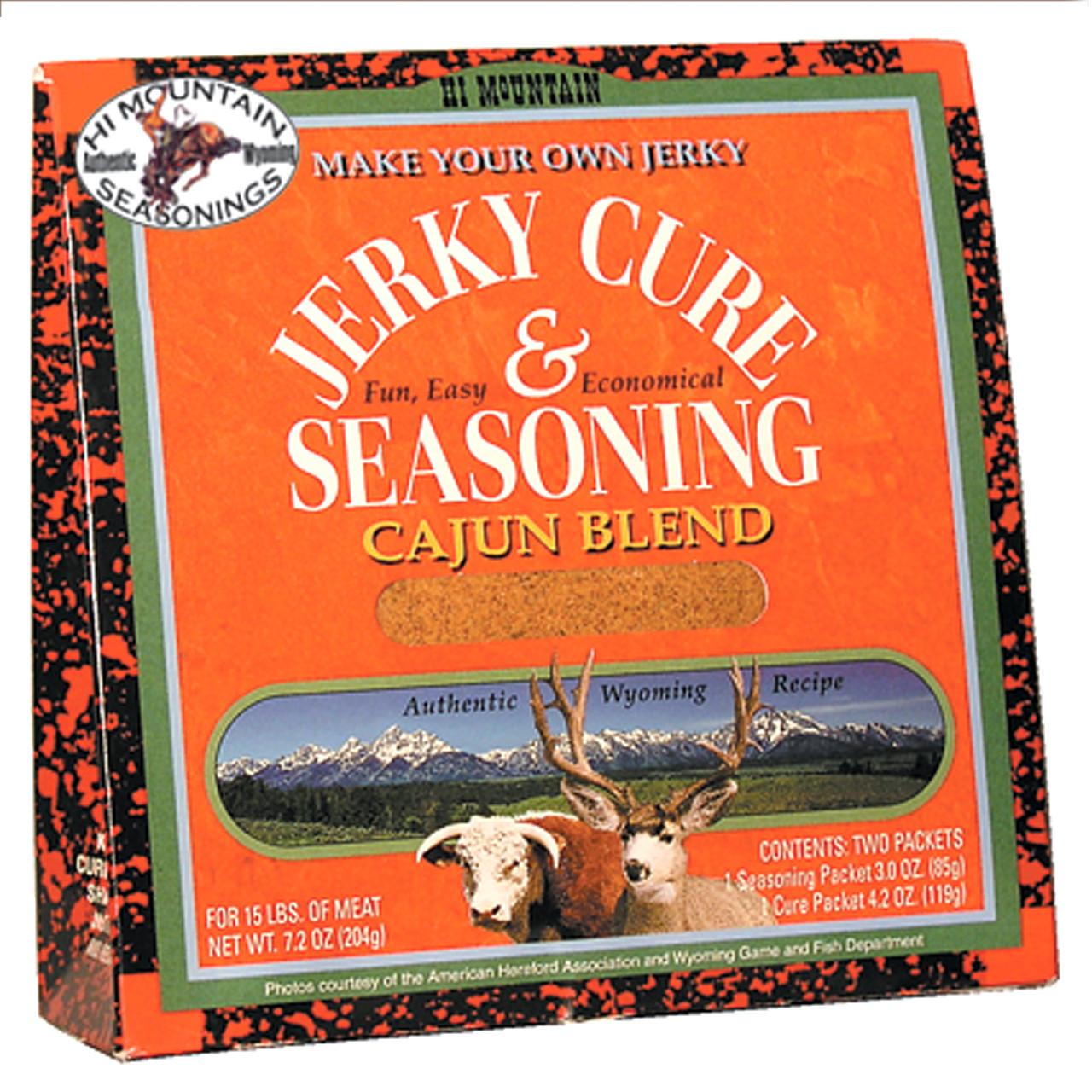 Cajun Blend Jerky Kit