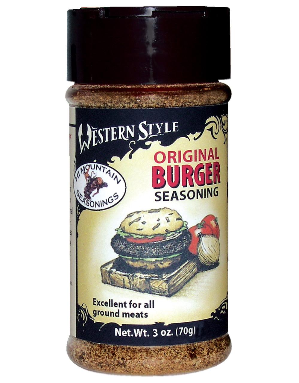 Original Burger Western Style Seasoning