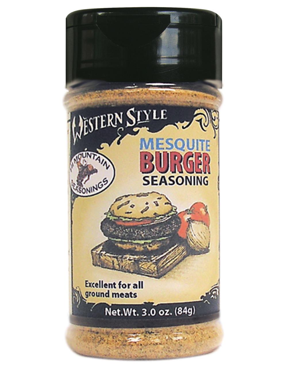 Mesquite Burger Western Style Seasoning